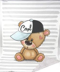 copertina in pile orsetto cool