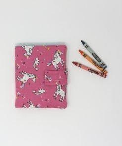 kit da disegno unicorni fucsia