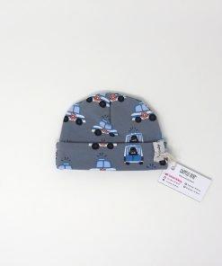cappellino cotone polizia 0-2 mesi