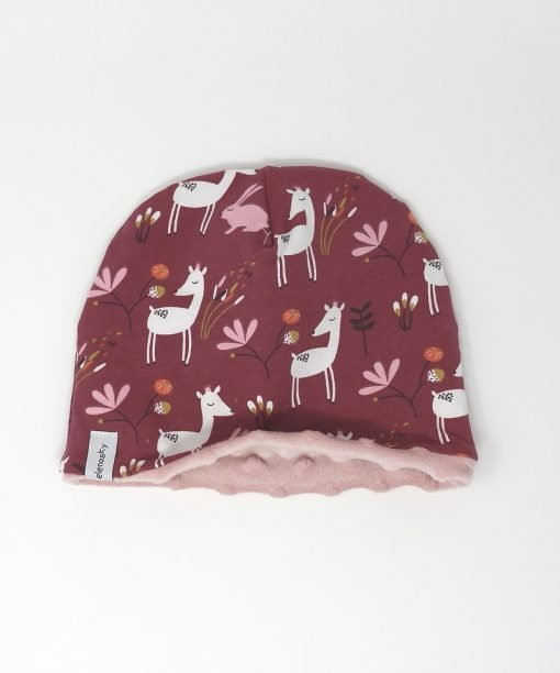 cappellino invernale bambi