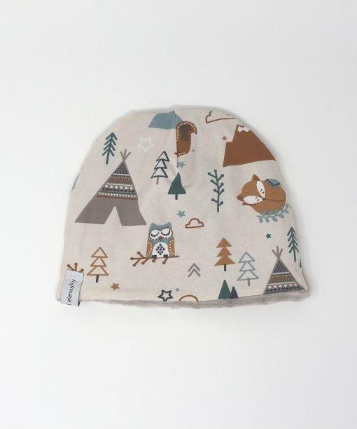 cappellino invernale bosco