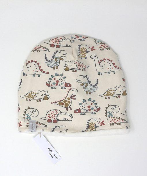 cappellino invernale dinosauri