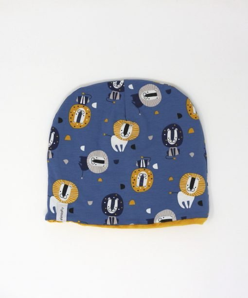 cappellino invernale leoni gialli