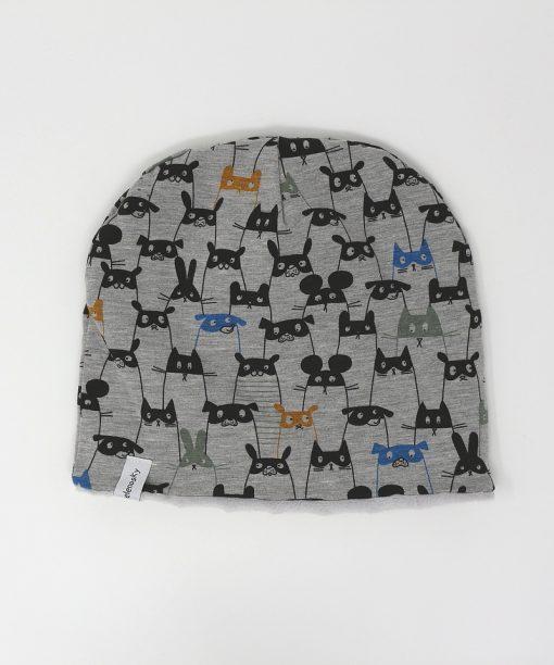 cappellino invernale musini grigio