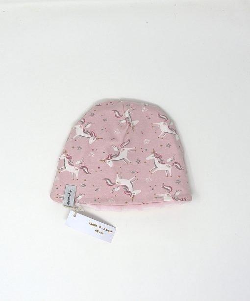 cappellino invernale unicorni