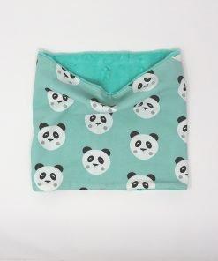 scaldacollo invernale panda verdi