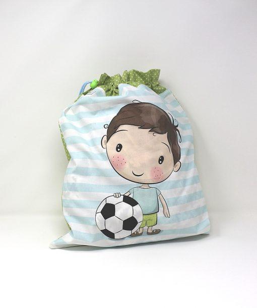 sacca neonato bimbo pallone
