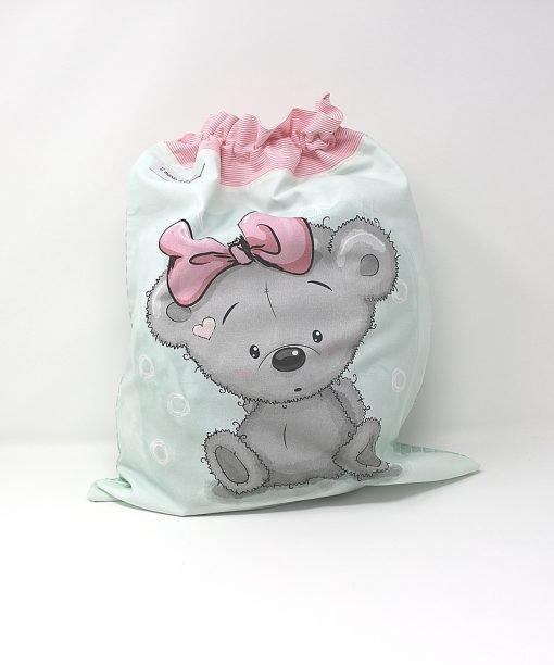 sacca neonato orsetta