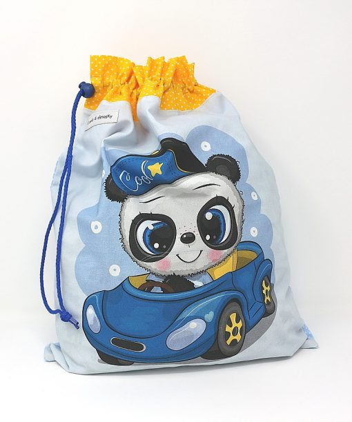 sacca neonato panda