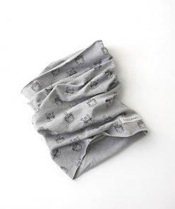 scaldacollo cotone granchi grigio