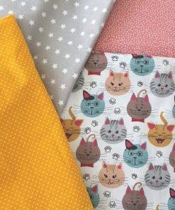 gatti colorati